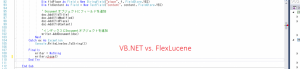 VB.net FlexLucene