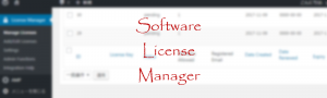 Software License Manager #2